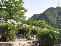 九公山公墓福泽园 109800元双穴传统墓