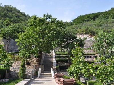 九公山陵园承泽园 129800元双穴传统墓